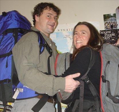 backpackers just b4 leaving Oz