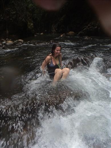 River.   Tangkahan.  Sumatra.  Indonesia.