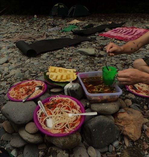 Tangkahan.  Sumatra.  Indonesia.