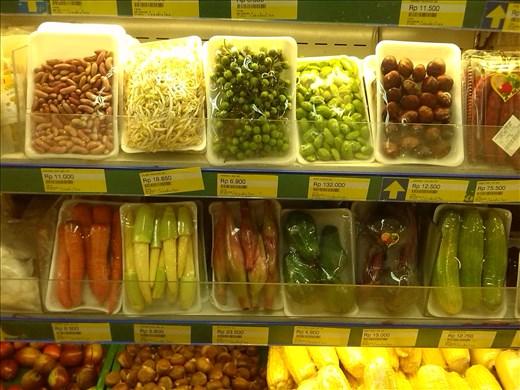 Supermarket food.
