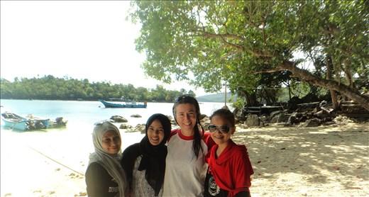 Berni.  Iboih beach.  Pulau Weh.