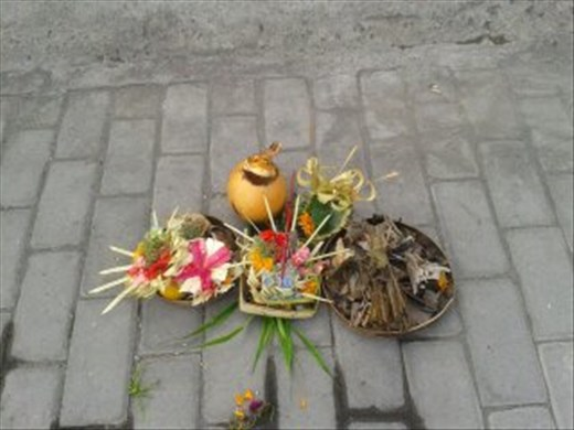 offerings to the gods