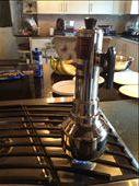 steam puttu until steam release through lid: by adventuresofachildlikewonder, Views[612]