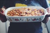 hot and saucy ricotta gnocchi ready for eating: by agathab, Views[99]