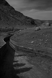 Jordan Rift Valley. A waterway drained by an upstream israel pumping center. : by agneslivingstone, Views[579]