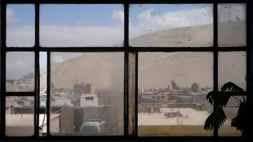 Desert city of Pacific coast.