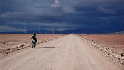 Uyuni Highway which connects between villages.