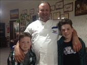 us With the pizza chef: by aidan-torin, Views[122]