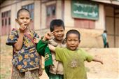 Happy kids in front of local school: by aimonaput, Views[120]