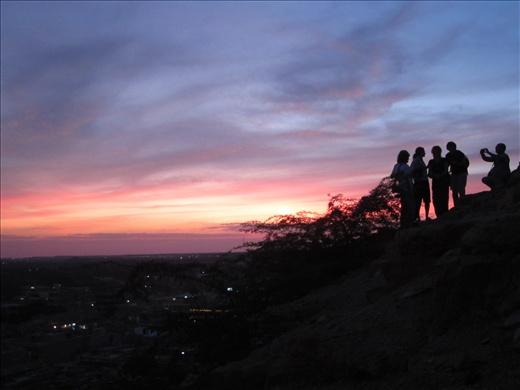 Cocktail sur la colline à Jaisalemer