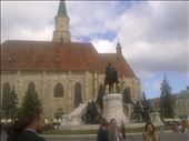Cluj, Cathedral and statue: by alanblake, Views[133]