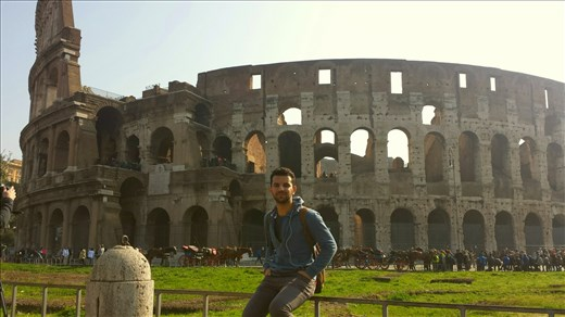 And here's the famous Rome Colosseum