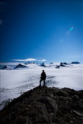 Looking at the Ice fields from Exit Glacier, Alaska.: by alaska, Views[240]