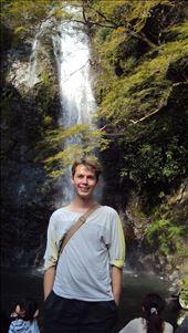 me in front of the minoo falls: by albert, Views[86]