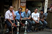 Shisha smoking, the most popular in leisure time & even work.: by aldarbelahmar, Views[614]