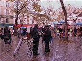 Painters at Montmartre. December 2013, Paris, France: by alessiacarrara, Views[118]