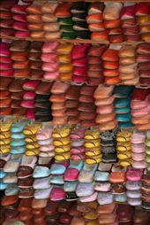 Traditional colourful shoes of Morocco: by alicekalambokas, Views[369]