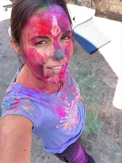 Color everywhere :)