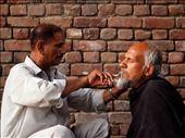 Street Barber: by alishahbaz, Views[121]