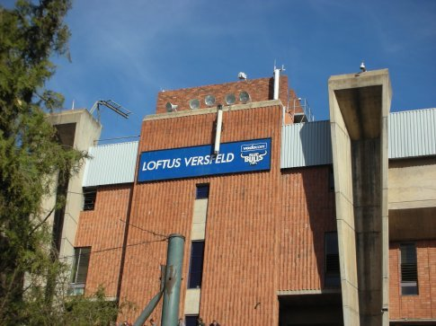Loftus Versveld, looking a bit run down these days in my opinion. Could do with a refurb.