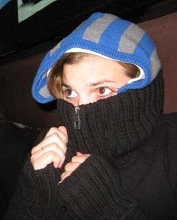 brrr i was cold!
