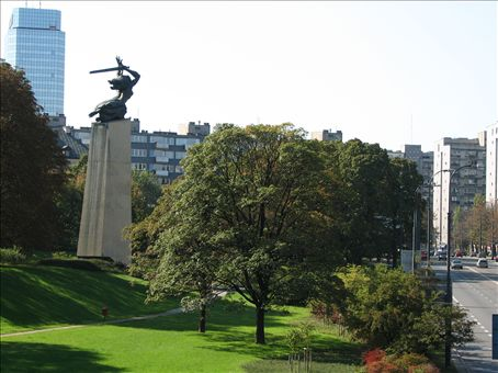 Monument to the Warsaw uprising?