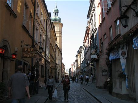 Old town in day