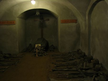 Capuchin Monastery that contains the mummified (naturally desiccated) bodies of 16 monks in its crypt