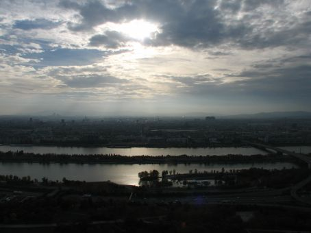 From the Danube tower