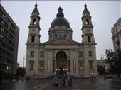 St Stephens Basilica - i love the people in front of it: by all_powered_up, Views[435]