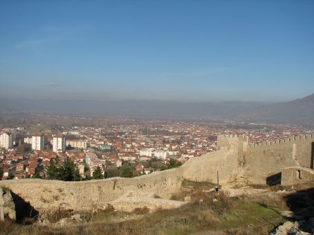 Another view of town from Czar Samuels Fortress