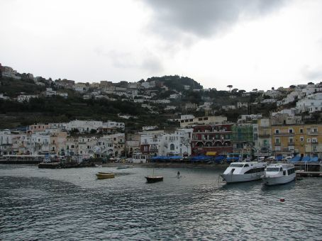 Capri main port