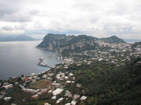 Capri town on Capri