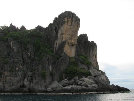 Glove rock...look closely