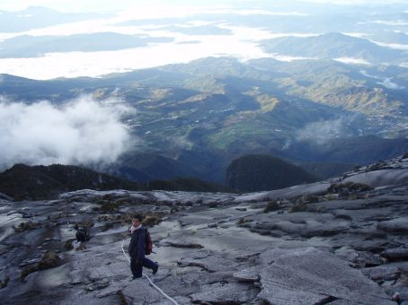 Yeah i'm coming! (me to my guide)- nice view