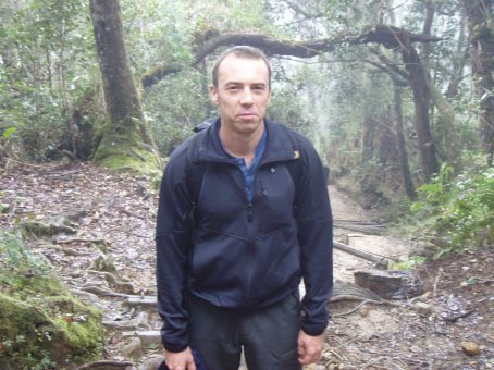 I even look tired here and the trek has barely started!