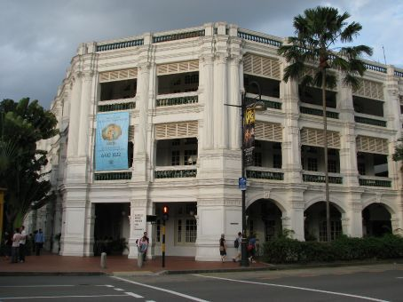 Now you know what THE Raffles hotel looks like