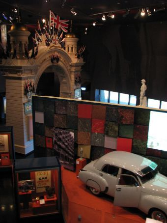Inside the Musuem of Australia...the Melbourne one