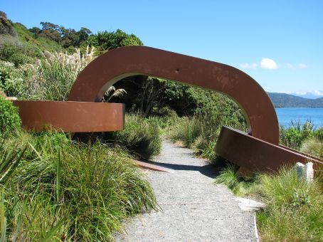 Did you know Stewart Island was the 'anchor' to hold the canoe in place for pulling up the north island - the south island is the canoe...obviously.