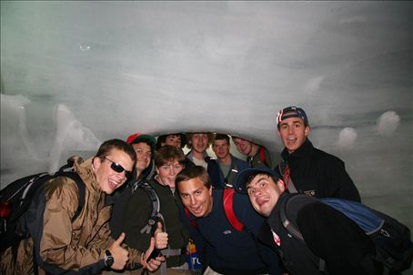 top of europe--ice palace