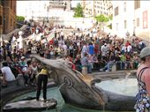 Spanish Steps and sinking boat fountain: by alleen, Views[502]
