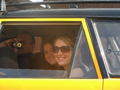 Taxi rides were fun!!!