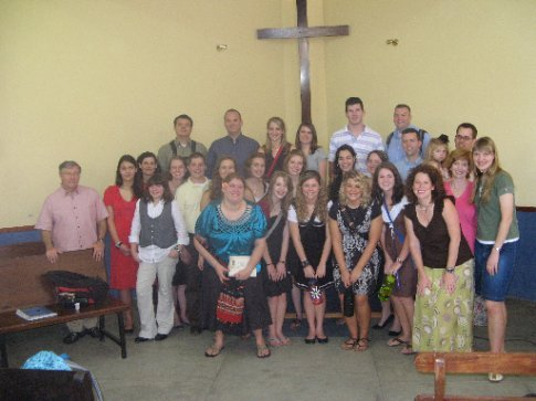 Group Picture at Winchanzao Church.