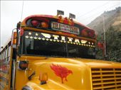 this chicken bus even has a chicken on the front: by alleen, Views[68]