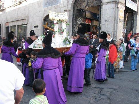 procession in Xela