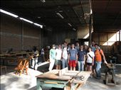 here is the entire group at the woodshop: by alleen, Views[85]