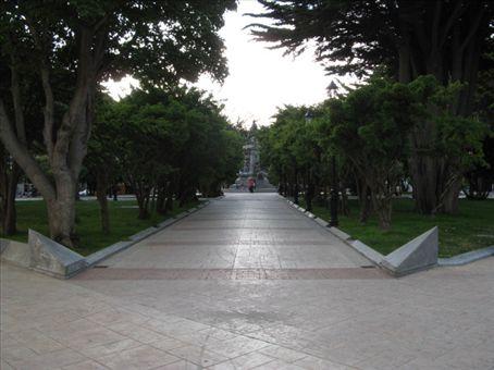 Main Square, Plaza Munoz Gamero.  It is beautiful.