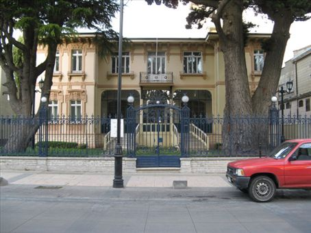 Club de la Union, the former Sara Braun manson, some rooms are still open for viewing.