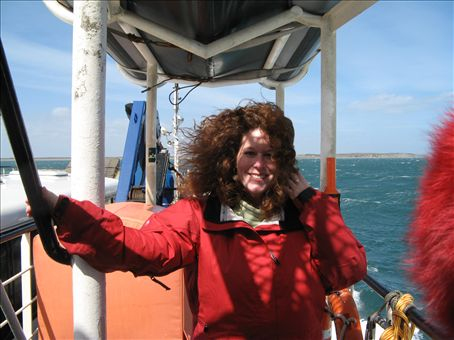 Its a bit windy.   A recurring theme on this trip.