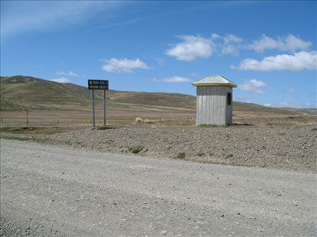 Housing for Hitchhikers in Tierra Del Fuego